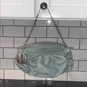 B Makowsky light green hand purse brand new